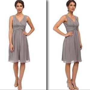 Donna Morgan Jessie Silk Chiffon Bridesmaid Dress